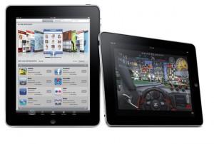 iPad 3G 64GB: Spel och appar
