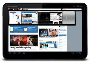 Opera Mobile 11 webbläsare för surfplattor