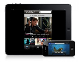 Voddlers iPad och iPhone app