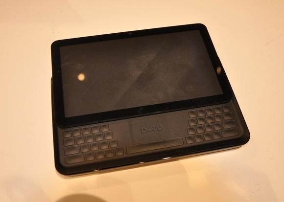 Prototyp för Dell:s 7 tum surfplatta med QWERTY-tangentbord