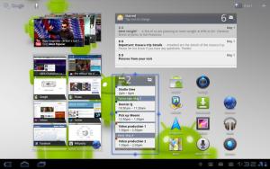 Föregångaren Android 3.1 Honeycomb