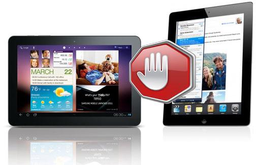 Apple tycker att Samsung med Galaxy Tab 10.1 har stulit intellektuella tillgångar från iPad2