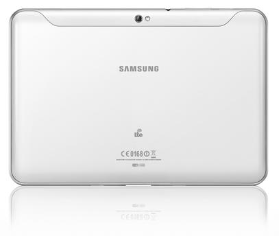 Samsung Galaxy Tab 8.9 baksida