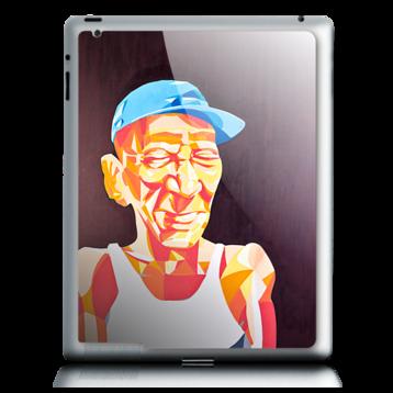 iPad 2-skin hos WeSkins: Åker, design av Sam