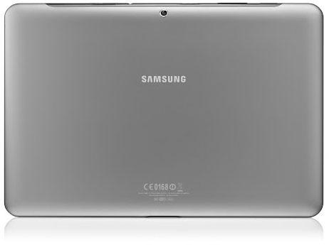 Samsung Galaxy Tab 2 10.1 baksida
