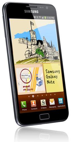 Samsung Galaxy Note har nu sålts i över 5 miljoner exemplar
