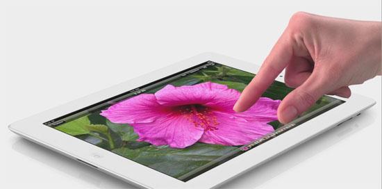 The new iPad lämpar sig extra bra för högupplösta och färgstarka fotografier med dess 2048x1536 pixlars Retina-display