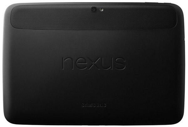Google Nexus 10 baksida