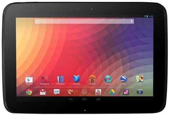 Google Nexus 10 - surfplattan i samarbete med Samsung