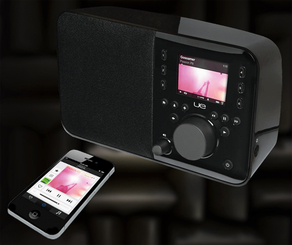 Logitech UE Smart Radio kan styras med en gratis Android/iOS-app