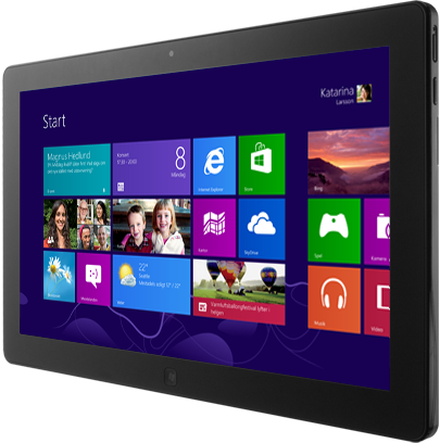 Microsoft Surface med Windows 8