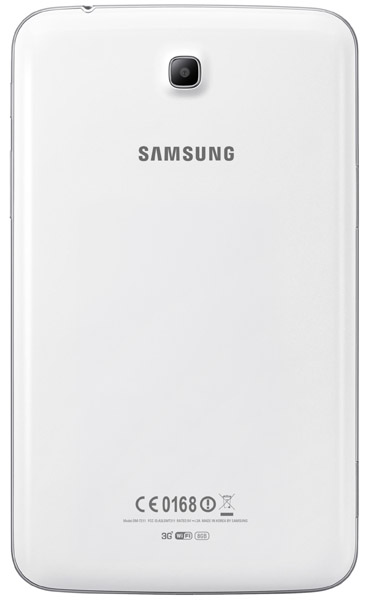 Samsung Galaxy Tab 3 3G baksida