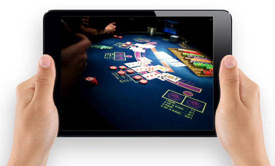 Black jack kasino i iPad mini