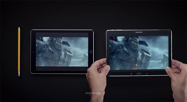 Samsungs nya reklam för Galaxy Tab Pro 10.1 hånar Apple iPad